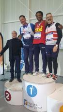 Vice-Champion de France : 13,04 m