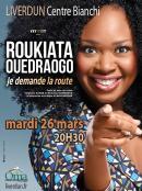 Roukiata Ouedraogo à Liverdun le 26 mars